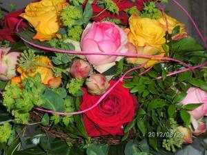 Ein Blumenstrauß erfreut immer