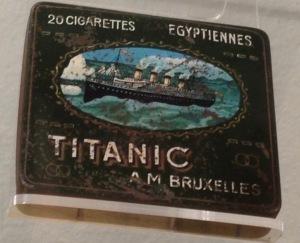 Zigarettendose,Titanic,MetallIMG_0041 Kopie